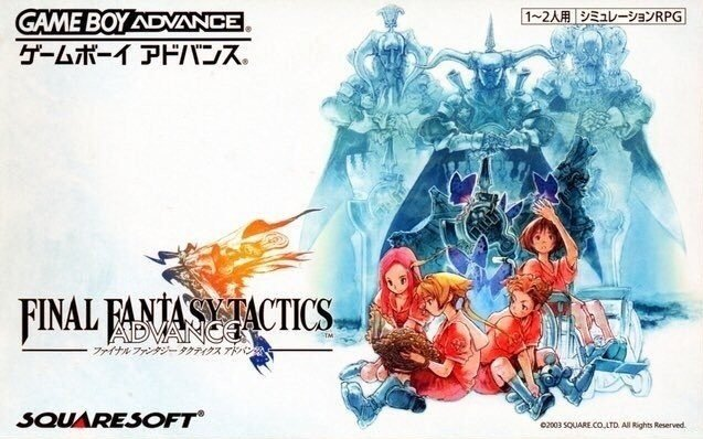 FINAL FANTASY TACTICS ADVANCE 最终幻想战略版Advance