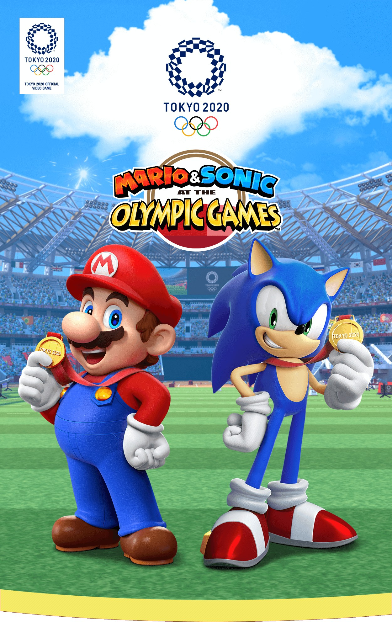 Mario & Sonic at the Olympic Games Tokyo 2020 马里奥与索尼克在东京2020奥运会