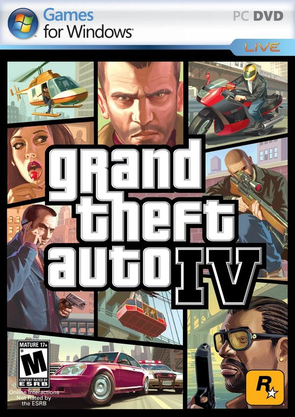 Grand Theft Auto IV 侠盗猎车手4