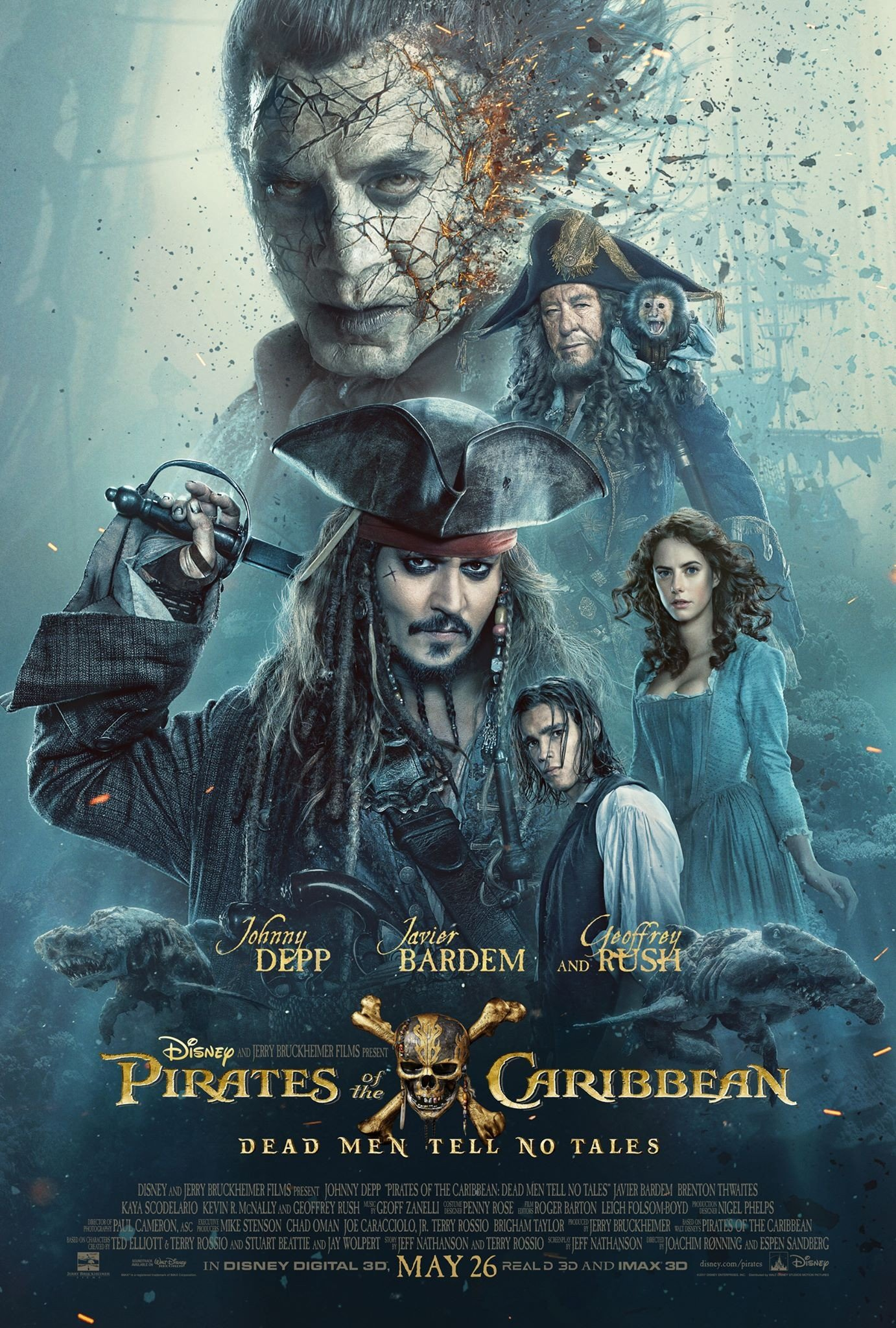 Pirates of the Caribbean: Dead Men Tell No Tales 加勒比海盗5:死无对证