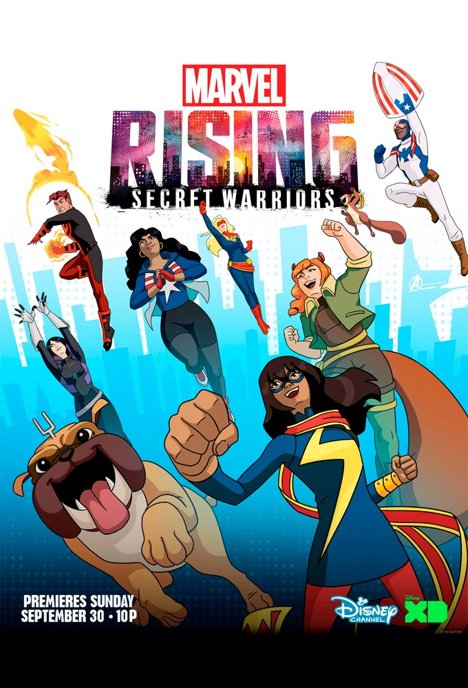 Marvel Rising: Secret Warriors 漫威崛起:秘密勇士
