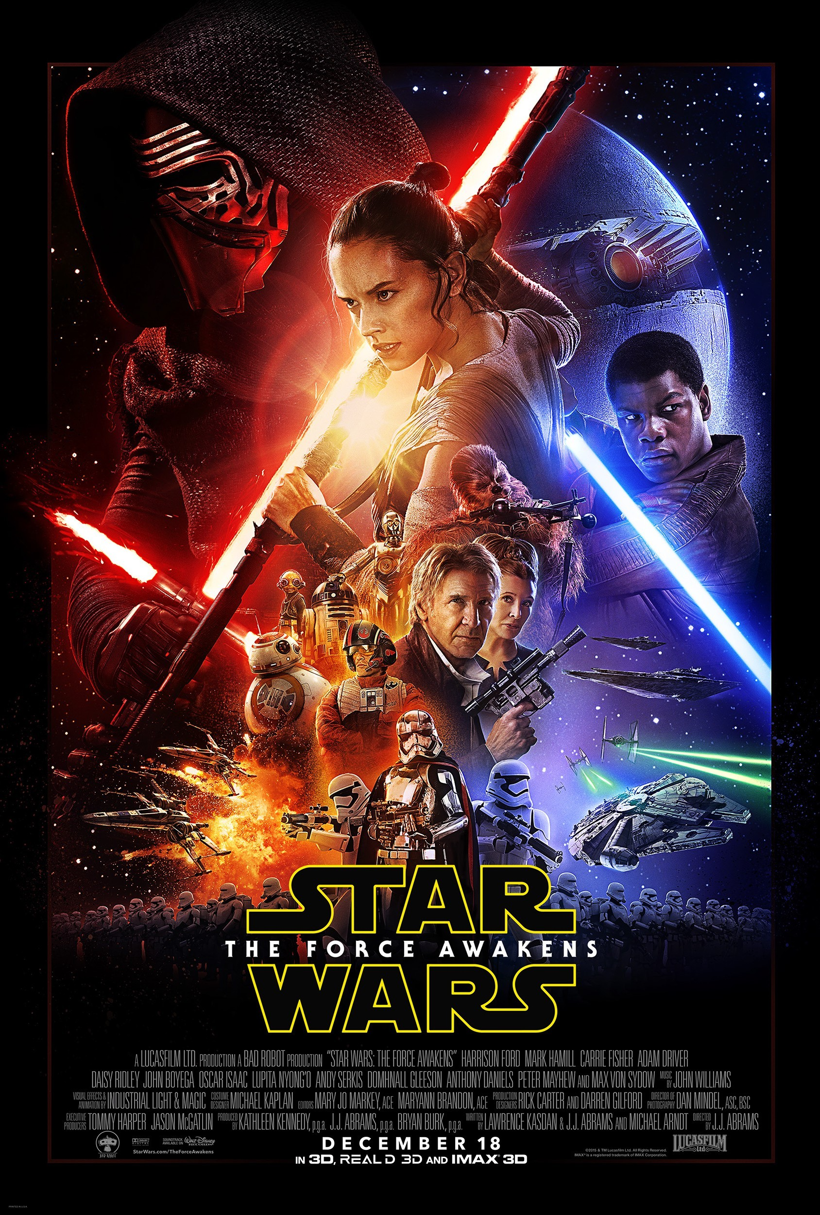 Star Wars: The Force Awakens 星球大战:原力觉醒