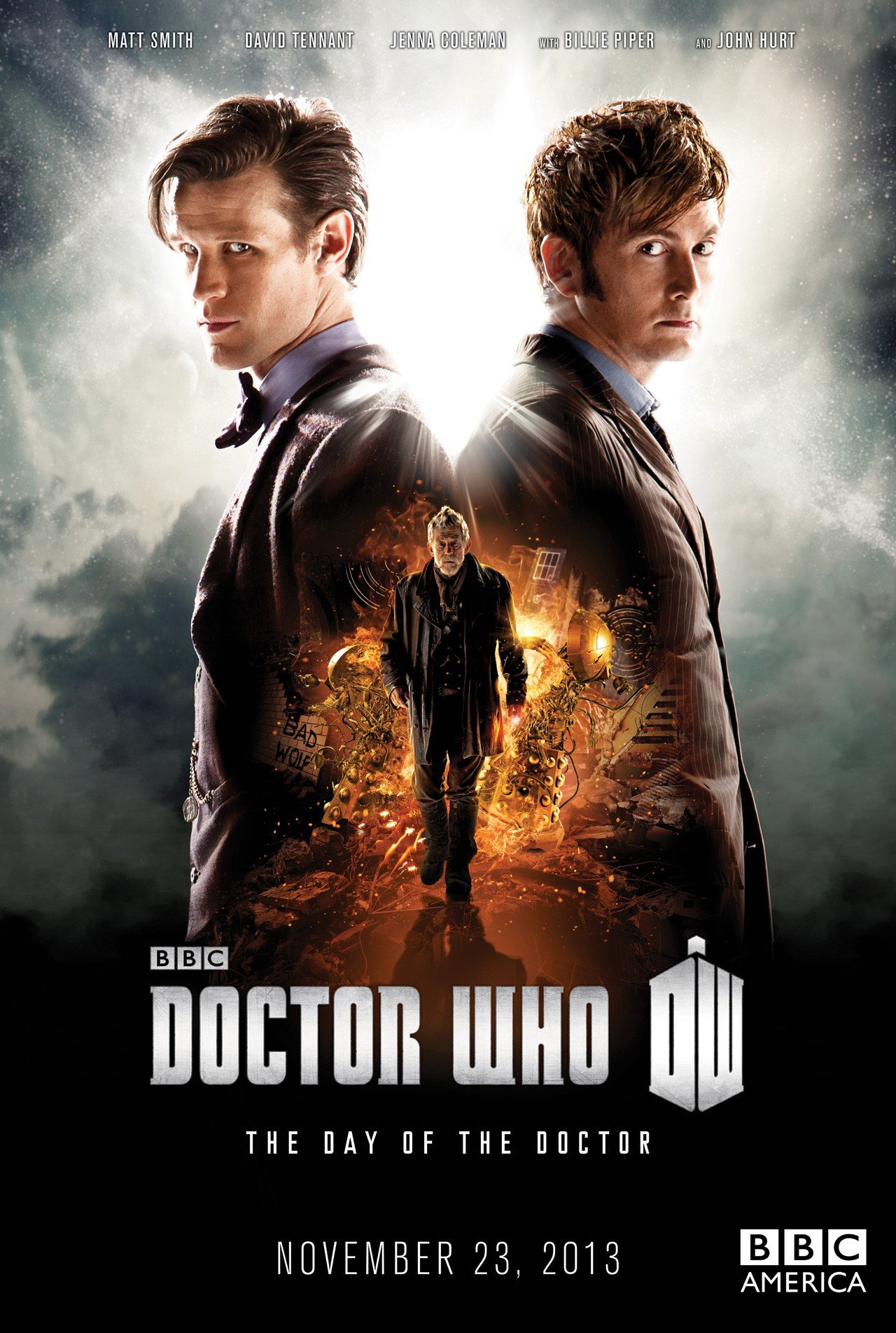 Doctor Who: 2013 The Day of the Doctor 神秘博士50周年特别篇
