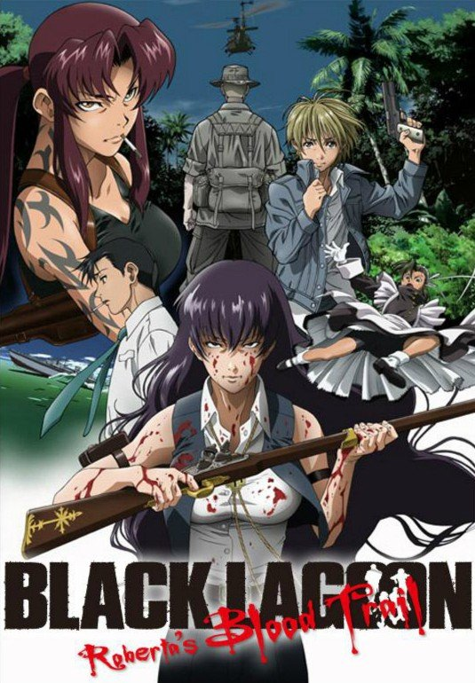 BLACK LAGOON Roberta's Blood Trail 黑礁 Roberta's Blood Trail