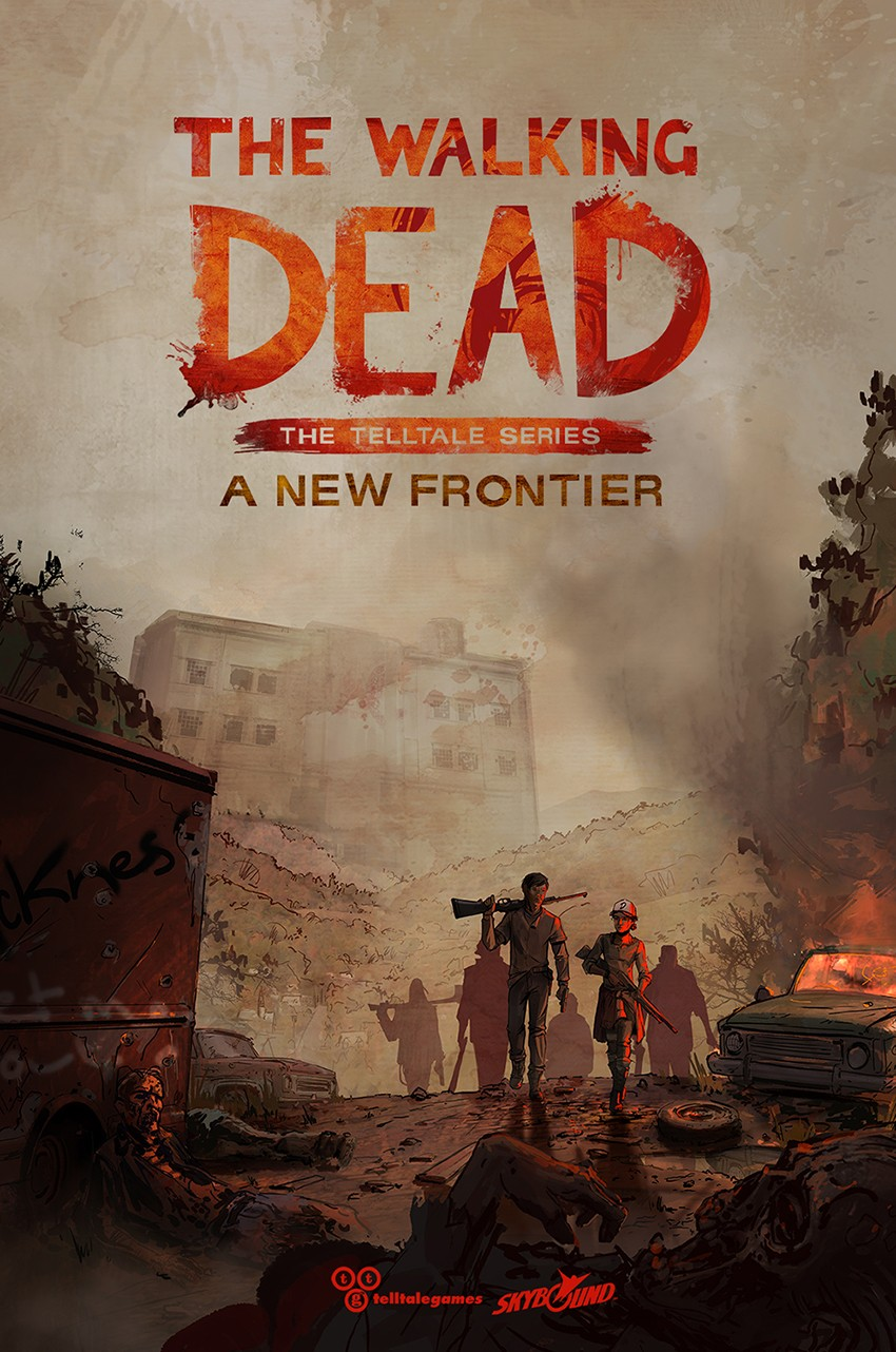 The Walking Dead: The Telltale Series - A New Frontier 行尸走肉:诉说游戏系列——新边际