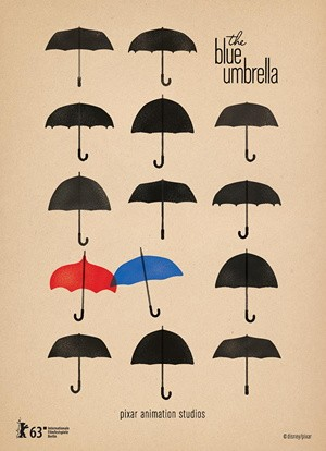 The Blue Umbrella 蓝雨伞