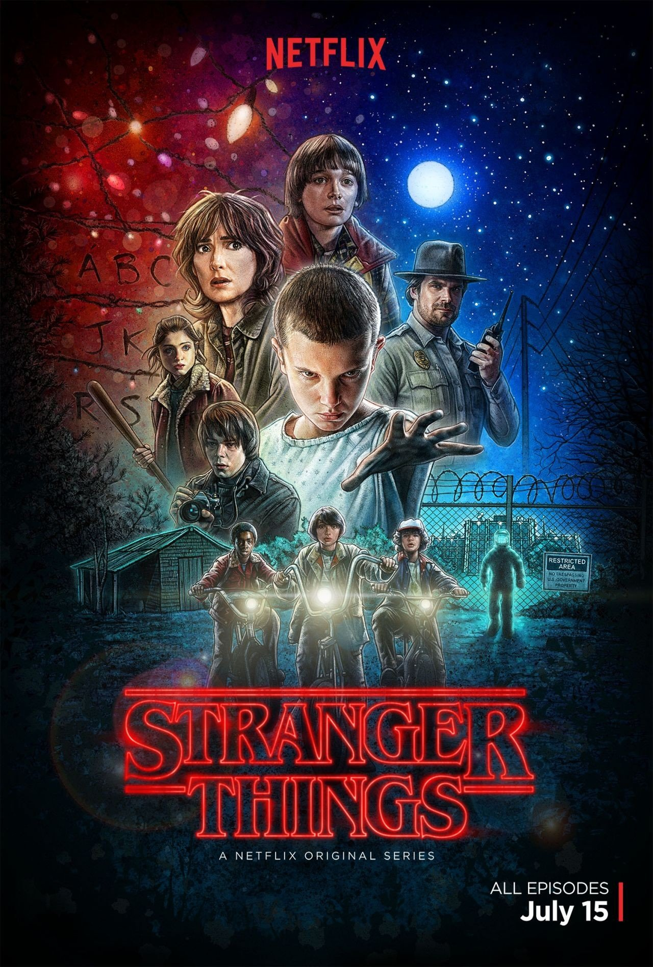 Stranger Things 怪奇物语