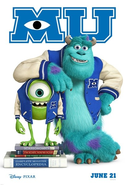 Monsters University 怪兽大学