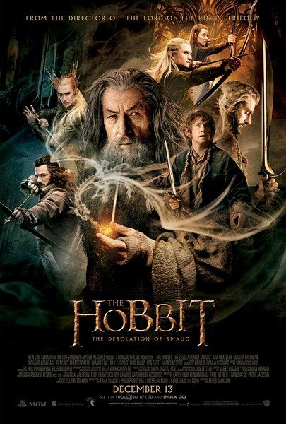 The Hobbit: The Desolation of Smaug 霍比特人2:史矛革之战