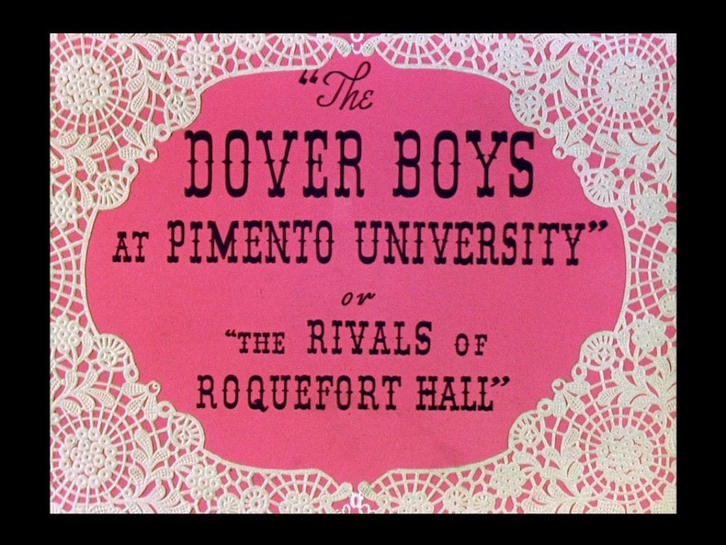 The Dover Boys at Pimento University or The Rivals of Roquefort Hall 多佛兄弟
