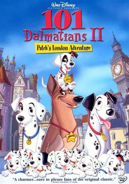 101 Dalmatians II: Patch's London Adventure 101忠狗续集:伦敦大冒险