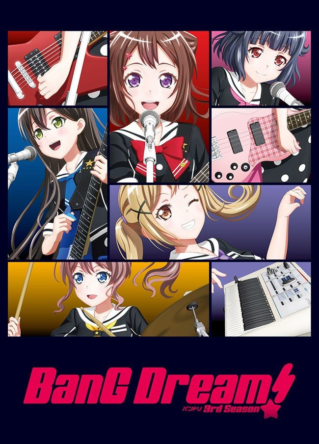 BanG Dream! 3rd Season BanG Dream! 第三季