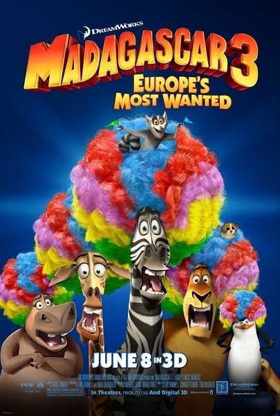 Madagascar 3: Europe's Most Wanted 马达加斯加3
