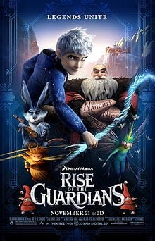 Rise of the Guardians 守护者联盟