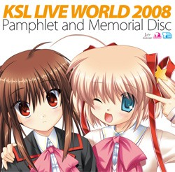 KSL LIVE WORLD 2008 Pamphlet and Memorial CD