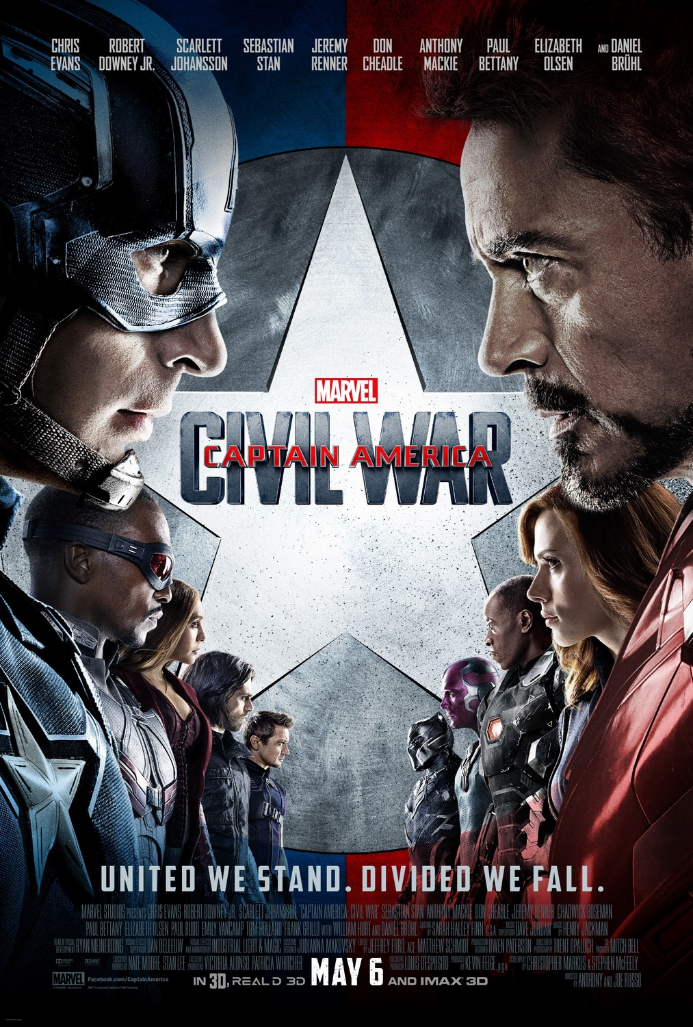 Captain America: Civil War 美国队长3:内战