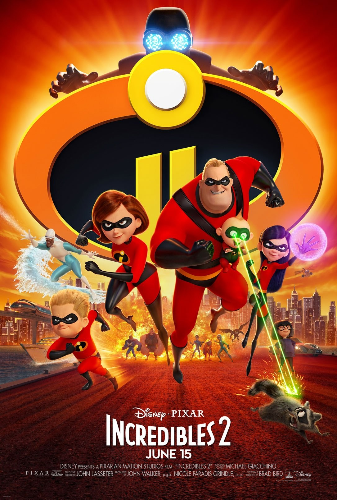The Incredibles 2 超人总动员2