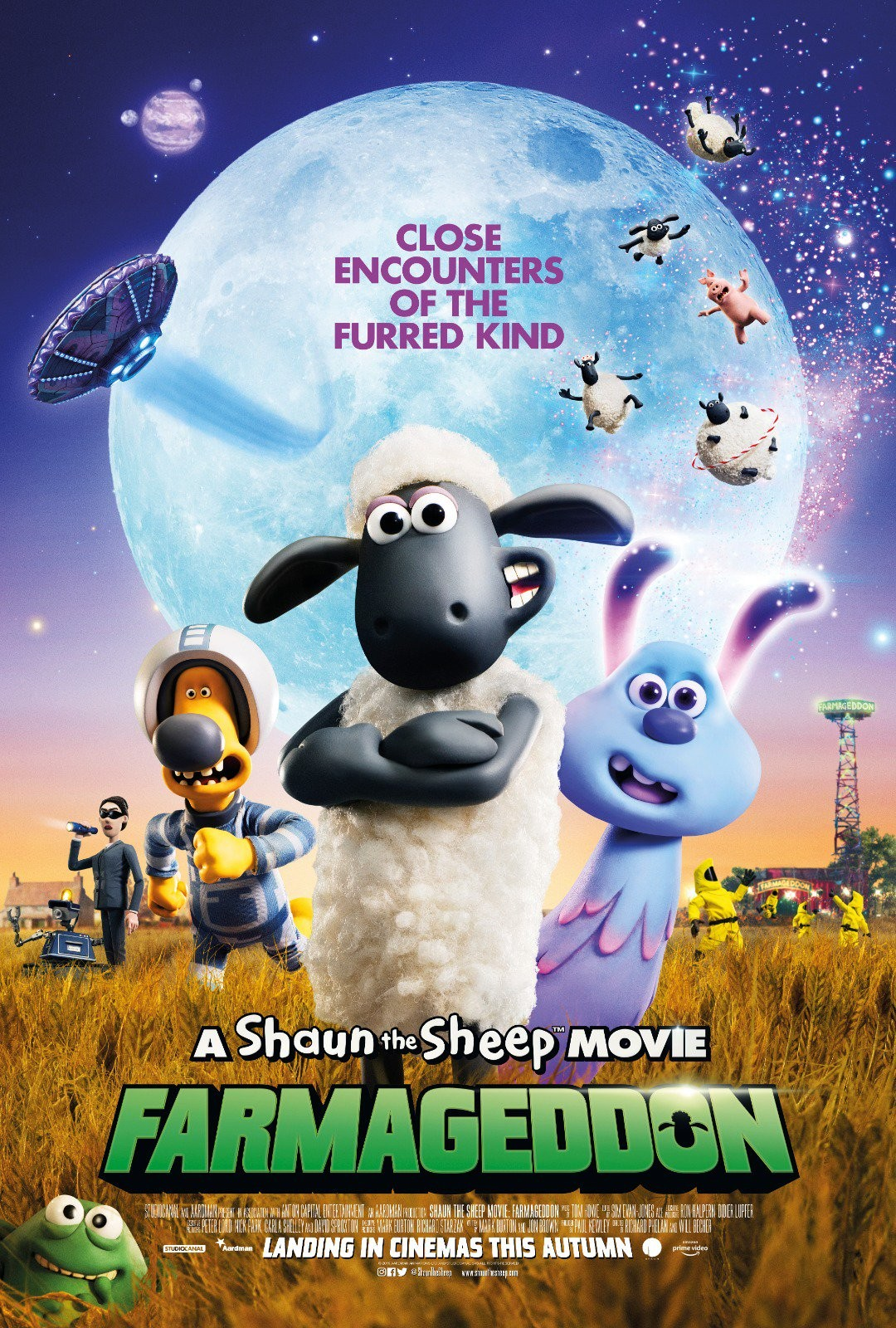 A Shaun the Sheep Movie: Farmageddon 小羊肖恩2:末日农场