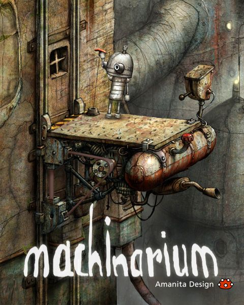 Machinarium 机械迷城