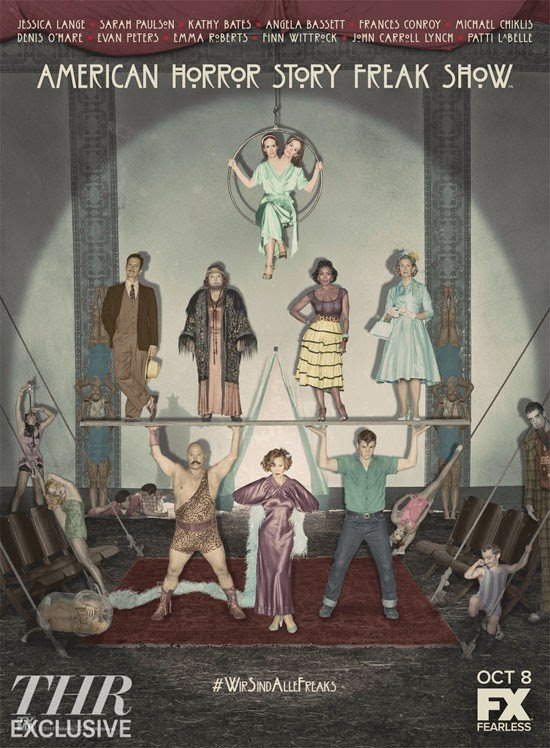 American Horror Story: Freak Show Season 4 美国恐怖故事 第四季