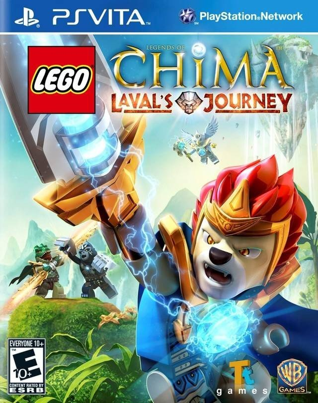 LEGO Legends of Chima: Laval's Journey 乐高神兽传奇