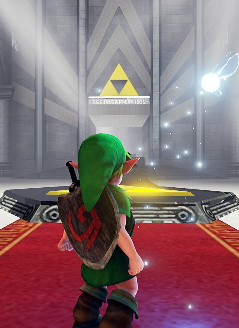 Zelda Ocarina of Time Unreal 4 Remake 塞尔达传说时之笛:虚幻4