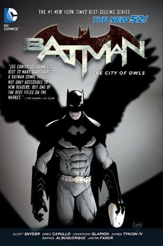 Batman Vol. 2: The City of Owls (The New 52) 蝙蝠侠:猫头鹰之城