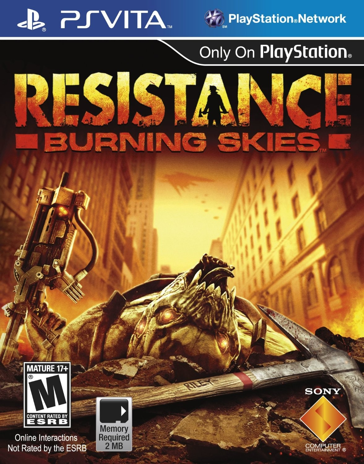 Resistance: Burning Skies 抵抗:燃烧苍穹