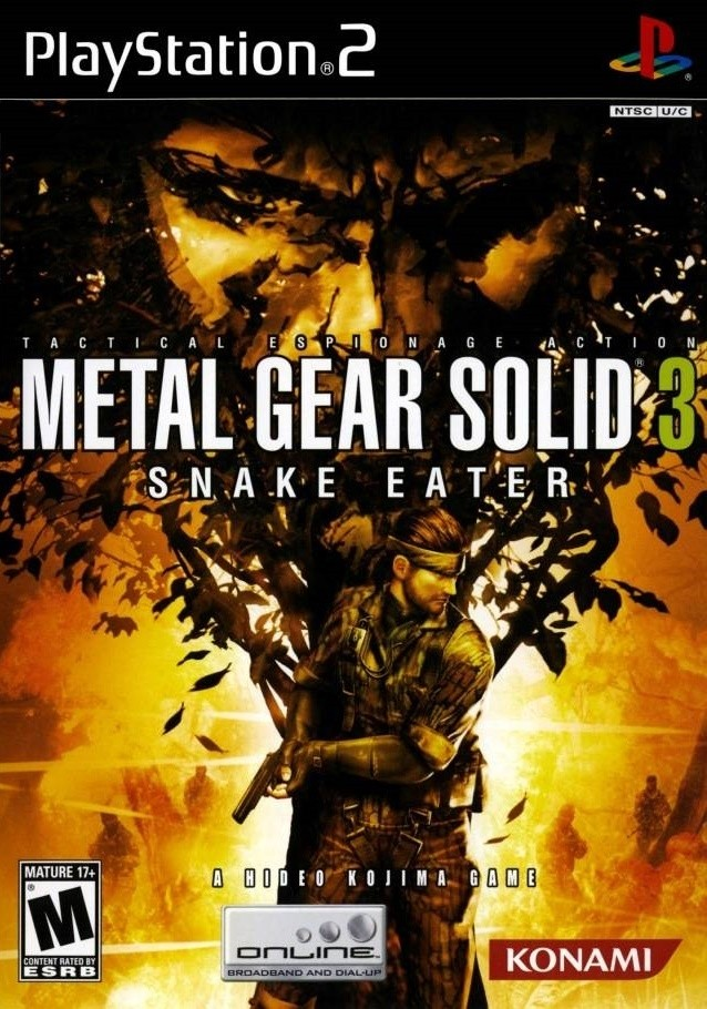 Metal Gear Solid 3 Snake Eater 潜龙谍影3 食蛇者
