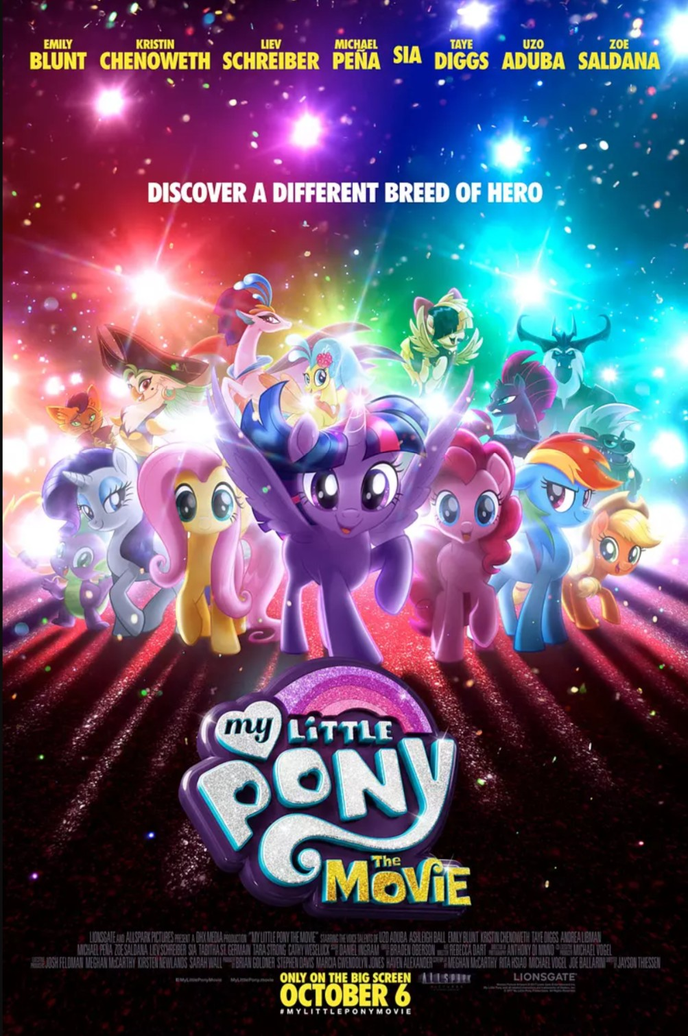 My Little Pony: The Movie 小马宝莉大电影