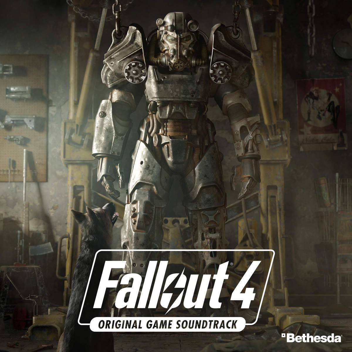 Fallout 4 Original Game Soundtrack 辐射4 游戏原声集