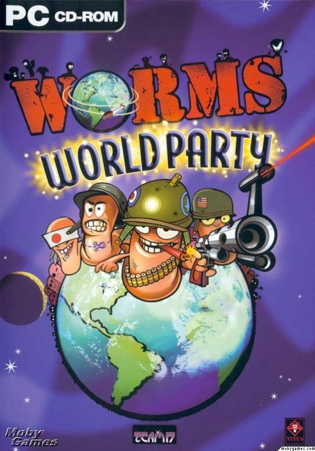 Worms World Party 百战天虫 世界派对