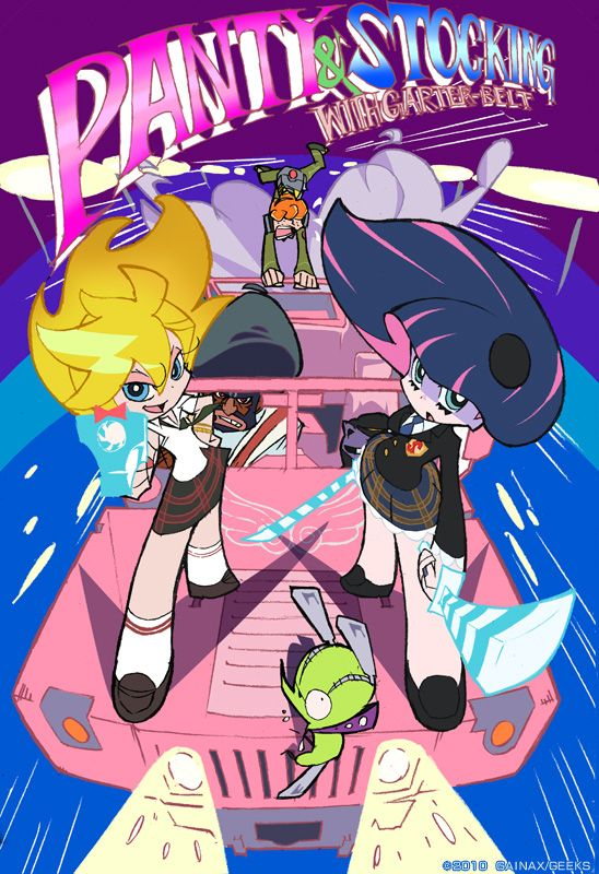 Panty & Stocking with Garterbelt 吊带袜天使