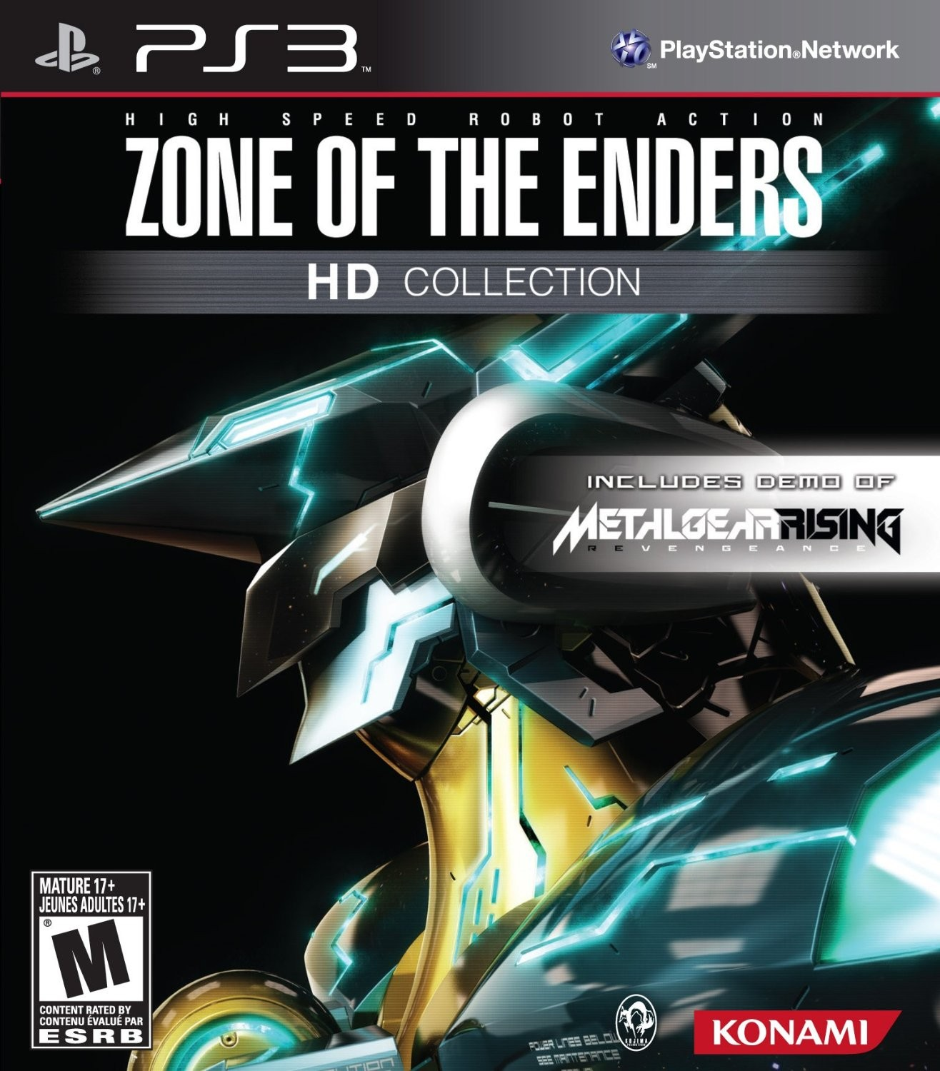 ZONE OF THE ENDERS HD EDITION 终极地带HD合集