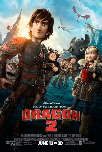 How to Train Your Dragon 2 驯龙高手2