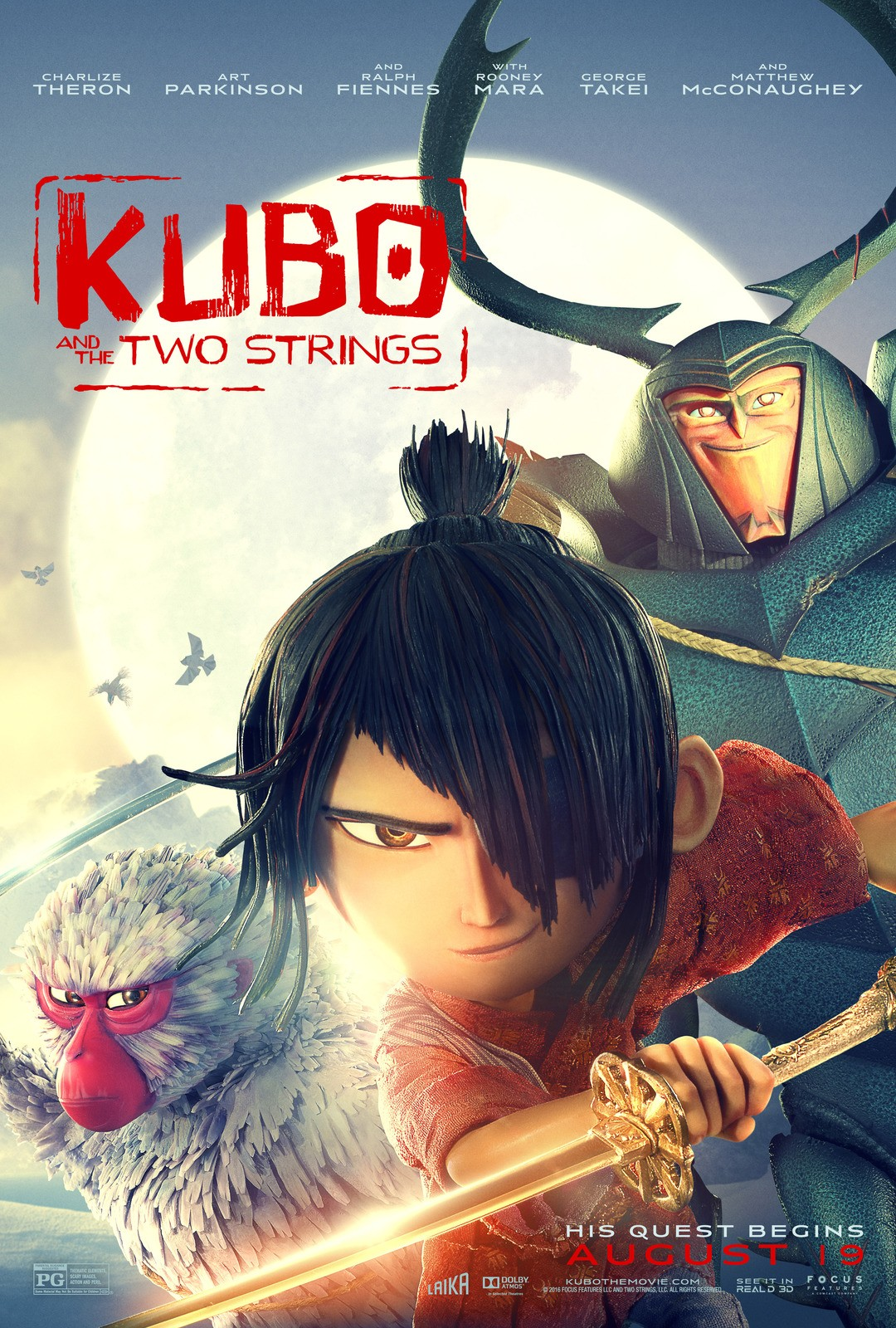Kubo and the Two Strings 魔弦传说