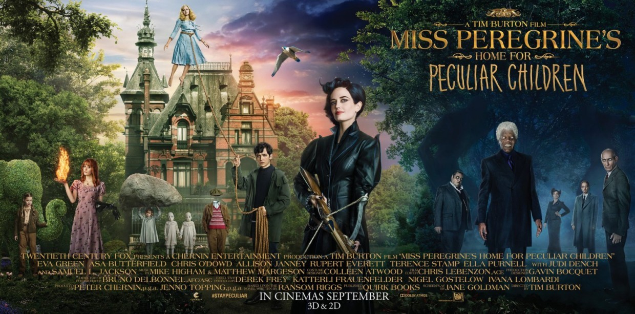 Miss Peregrine's Home for Peculiar Children 佩小姐的奇幻城堡