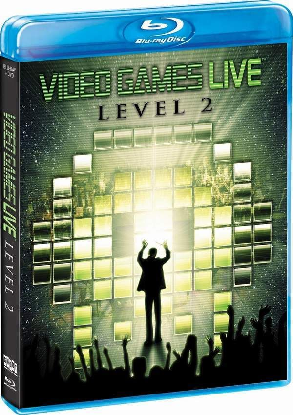 Video Games Live: Level 2[Blu-Ray + DVD Combo] 电玩交响音乐会Level 2[BD+DVD]