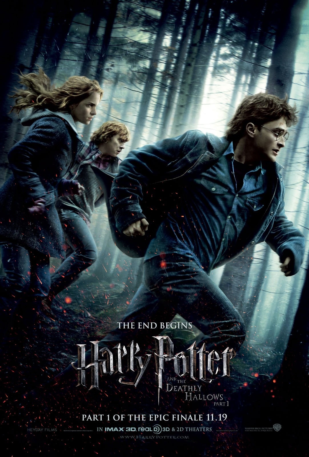 Harry Potter and the Deathly Hallows: Part 1 哈利·波特与死亡圣器(上)