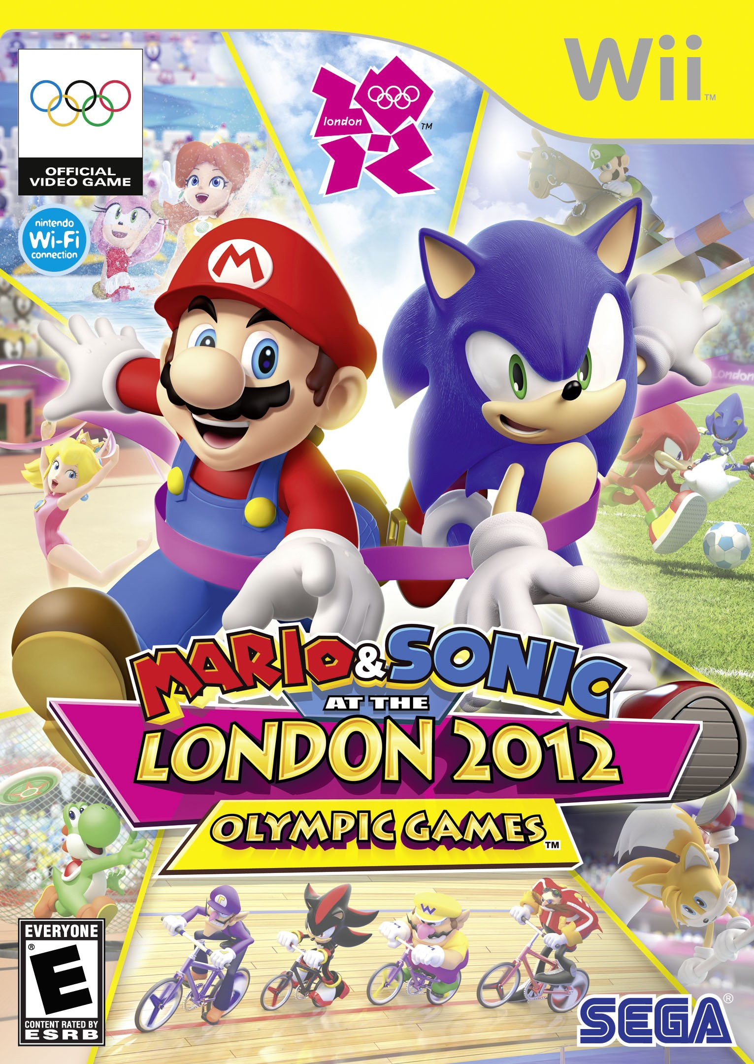 Mario and Sonic at London 2012 Olympic Games 马里奥和索尼克在伦敦奥运会