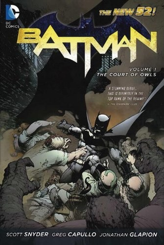 Batman Vol. 1: The Court of Owls 蝙蝠侠:猫头鹰法庭