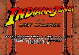 Indiana Jones and the Last Crusade: The Action Game 圣战奇兵