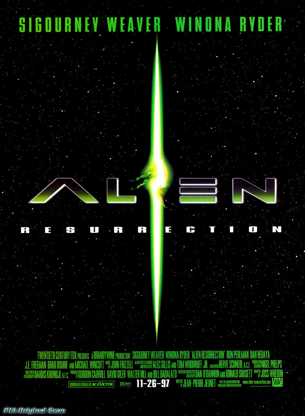 Alien: Resurrection 异形4