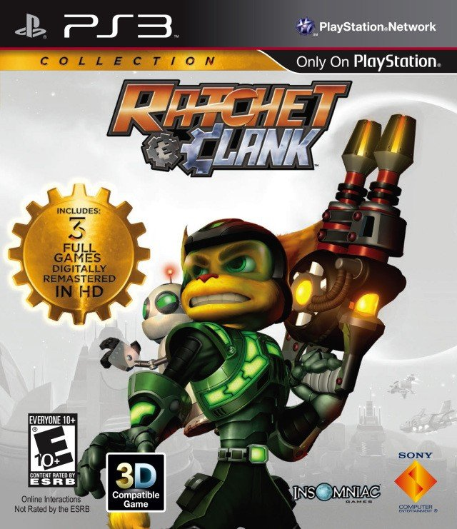 Ratchet & Clank Collection 瑞奇与叮当三部曲HD
