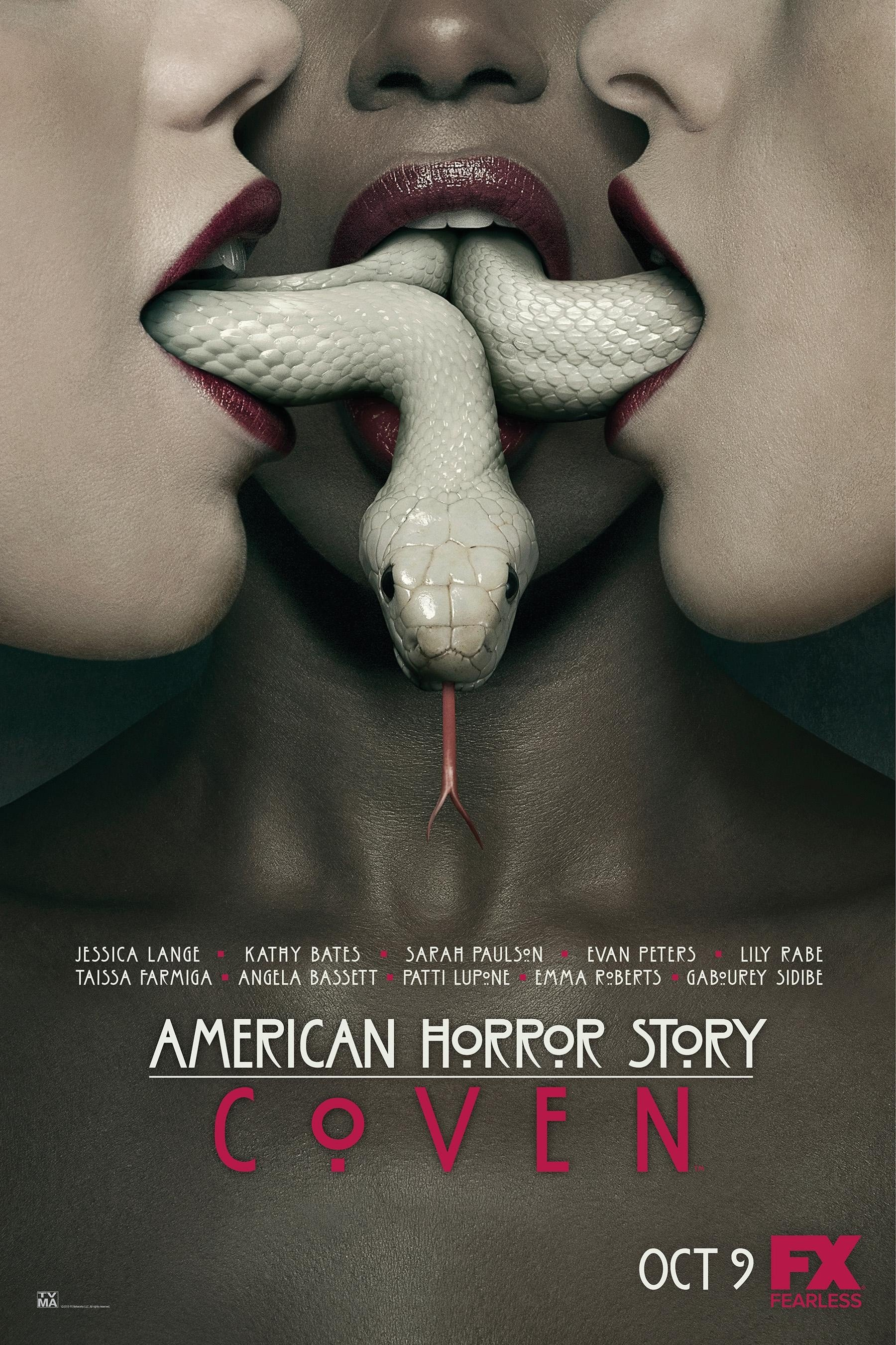 American Horror Story: Coven Season 3 美国恐怖故事 第三季