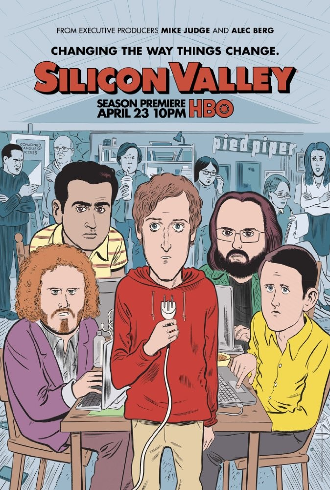 Silicon Valley Season 4 硅谷 第四季