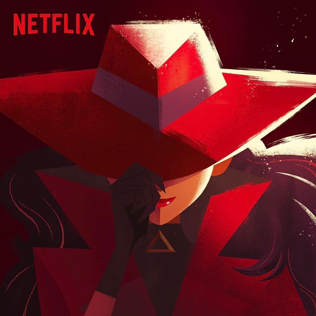 Carmen Sandiego New Animated Series 神偷卡门 新作