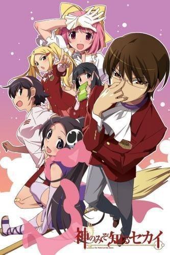 《只有神知道的世界》1-2季+OVA+女神篇 百度网盘下载