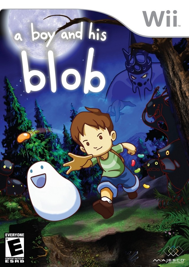 A Boy and His Blob 男孩与泡泡怪