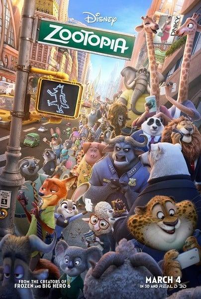 Zootopia 疯狂动物城